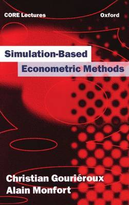 Simulation-based Econometric Methods