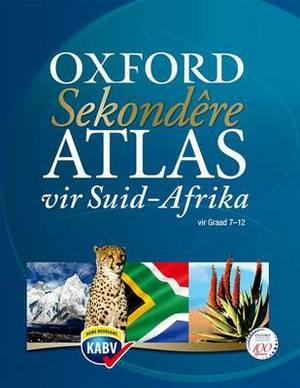 Sekondere atlas vir Suid-Afrika CAPS: Gr 8 - 12: Leerdersboek