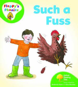 Oxford Reading Tree:  Level 2: Floppy's Phonics: Such a Fuss