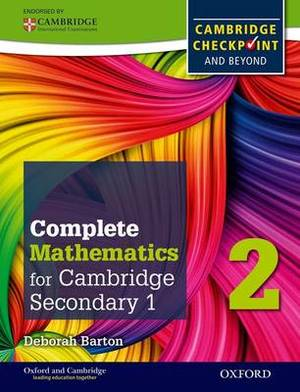 Complete Mathematics for Cambridge Lower Secondary 2: Cambridge Checkpoint and beyond