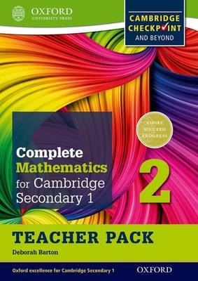 Complete Mathematics for Cambridge Secondary 1 Teacher Pack 2: For Cambridge Checkpoint and Beyond