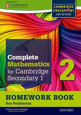 Complete Mathematics for Cambridge Secondary 1 Homework Book 2 (Pack of 15): For Cambridge Checkpoint and Beyond