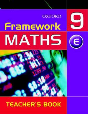 Framework Maths: Year 9: Extension Teacher's Book: Year 9: Extension Teacher's Book