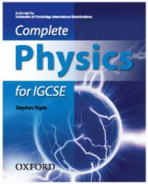 Complete Physics for IGCSE: Endorsed by University of Cambridge International Examinations
