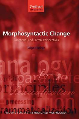 Morphosyntactic Change: Functional and Formal Perspectives
