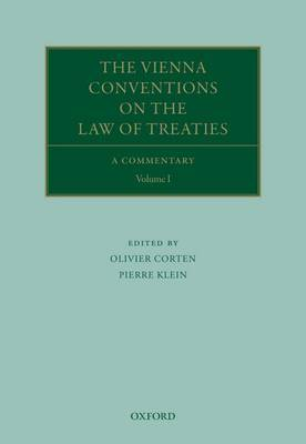 The Vienna Conventions on the Law of Treaties: A Commentary