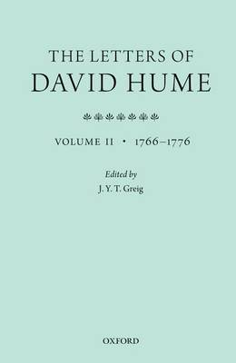 The Letters of David Hume: Volume 2