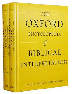 Oxford Encyclopedia of Biblical Interpretation