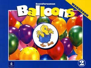 Balloons: Kindergarten, Level 2 Workbook