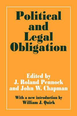 Political and Legal Obligation