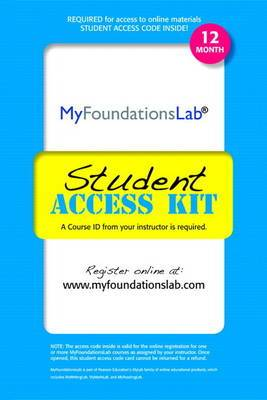 MyLab Foundational Skills without Pearson eText -- Standalone Access Card (12-month access)