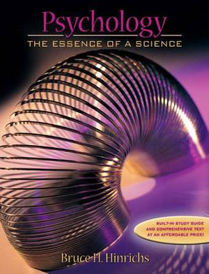 Psychology: The Essence of a Science