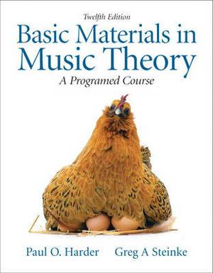 Basic Materials in Music Theory: A Programmed Approach