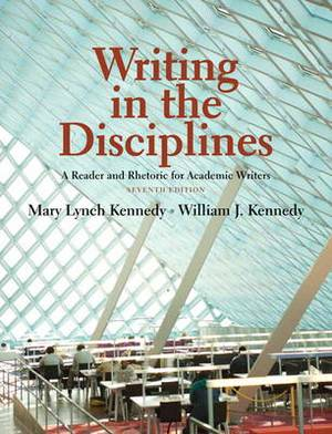 Writing in the Disciplines: A Reader and Rhetoric Academic for Writers