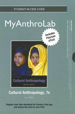 New MyAnthroLab with Pearson Etext -- Standalone Access Card -- for Cultural Anthropology