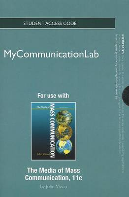 New MyCommunicationLab Without Pearson Etext - Standalone Access Card - For Media of Mass Communication
