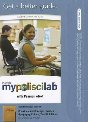 MyPoliSciLab with Pearson Etext - Standalone Access Card - for Countries and Concepts: Politics, Geography, Culture