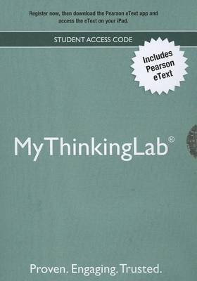 NEW MyLab Thinking without Pearson eText -- ValuePack Access Card