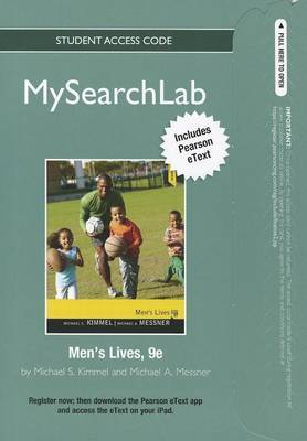 MySearchLab with Pearson Etext - Standalone Access Card - for Men's Lives