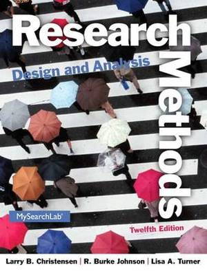 Research Methods, Design, and Analysis