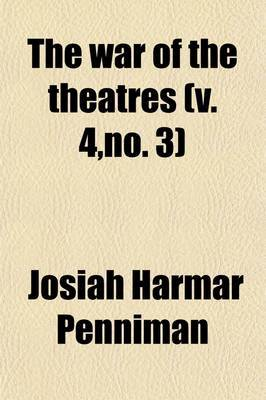 The War of the Theatres (4, No. 3)