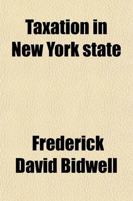 Taxation in New York State