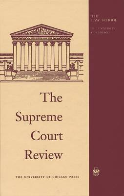 The Supreme Court Review: 1985