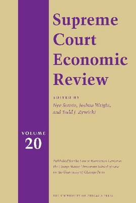 The Supreme Court Economic Review: v.20