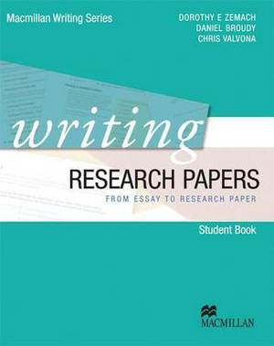 Writing Research Papers - from Essay to Research Paper