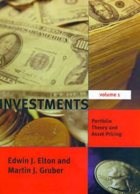 Investments: v. 1: Portfolio Theory and Asset Pricing