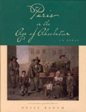 Paris in the Age of Absolutism