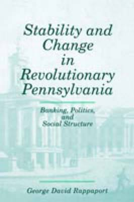 Stability & Change In Revol. Penna