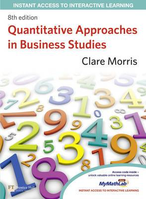Quantitative Approaches in Business Studies