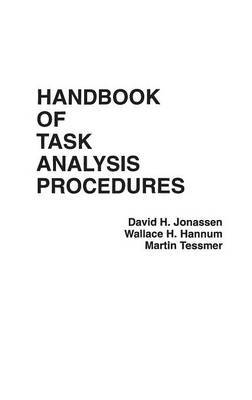 Handbook of Task Analysis Procedures