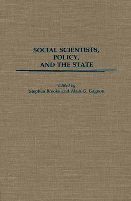 Social Scientists, Policy, and the State
