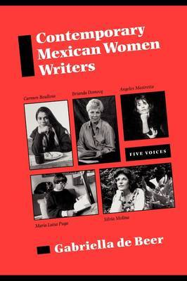 Contemporary Mexican Women Writers: Five Voices