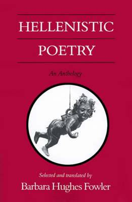 Hellenistic Poetry: An Anthology