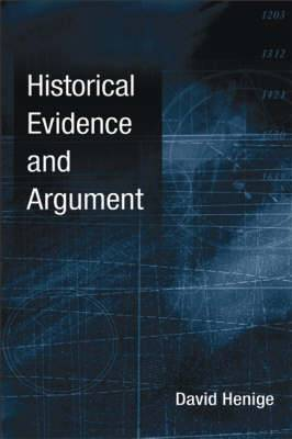 Historical Evidence and Argument
