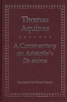 A Commentary on Aristotle's 'de Anima'