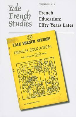 Yale French Studies: Fifty Years Later