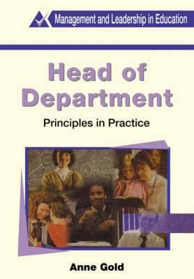 Head of Department: Principles in Practice