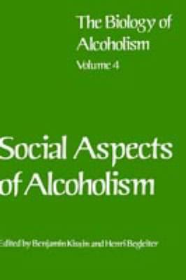 Social Aspects of Alcoholism