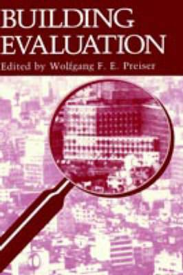 Building Evaluation: Symposium on Advances in Building Evaluation, Knowledge, Methods, and Applications, 10th Biannual Conference Papers: 1988