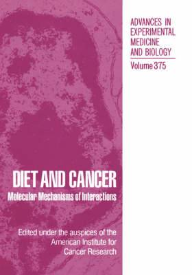 Diet and Cancer: Markers, Prevention, and Treatment