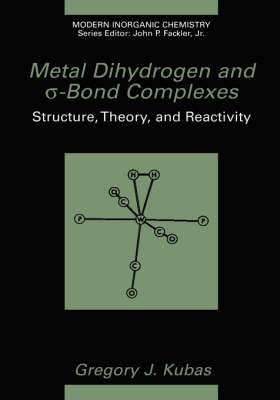 Metal Dihydrogen and Sigma-Bond Complexes: Structure, Theory and Reactivity