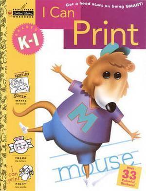 Sawb:I Can Print-Grades K-1