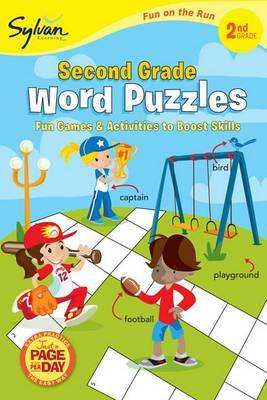 Second Grade Word Puzzles (Sylvan Fun On The Run Series)