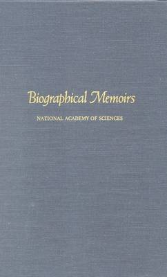 Biographical Memoirs: Volume 68