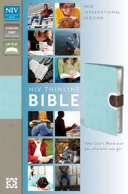 NIV, Thinline Bible, Imitation Leather, Pink, Red Letter Edition