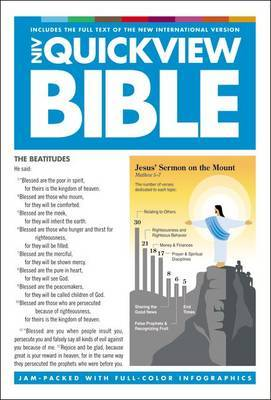 NIV, QuickView Bible, Hardcover